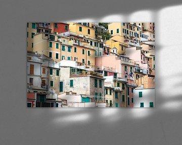 Gekleurde huizen von Christein van Hoffen