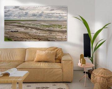 Waddendijk bij Nieuwe Sluis van Roel Ovinge