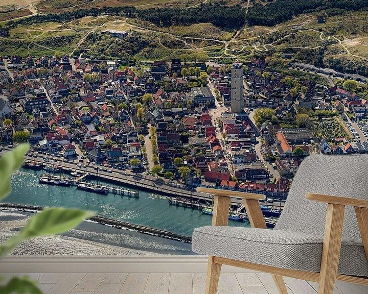 Sfeerimpressie behang: West-Terschelling van Roel Ovinge