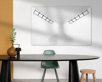 Abstract interieur von Greetje van Son