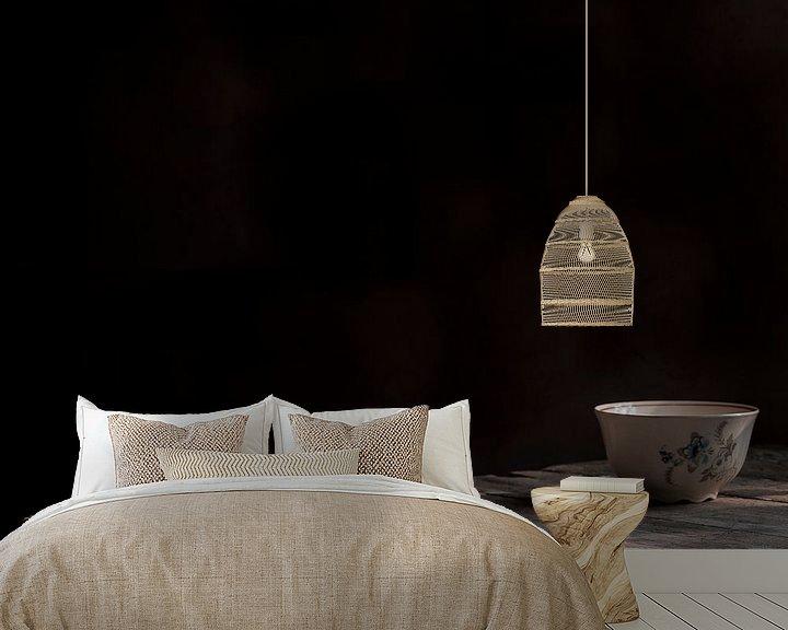 Sfeerimpressie behang: Kopje op tafel van arjan doornbos