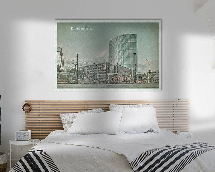 Sfeerimpressie: Oude ansichten: Rotterdam Beurs van Frans Blok