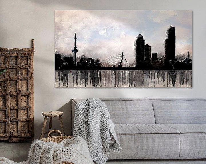 Beispiel: Stadt Rotterdam von Arjen Roos
