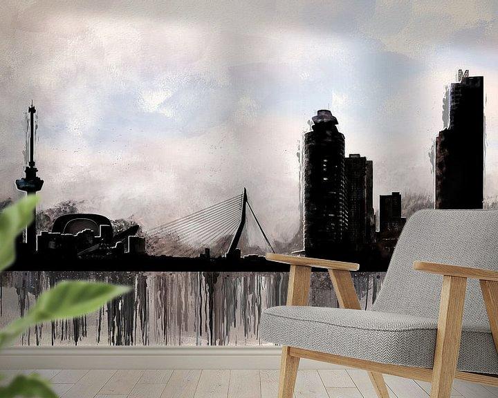 Beispiel fototapete: Stadt Rotterdam von Arjen Roos