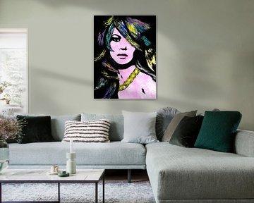 Danke, Kate Moss von Lucienne van Leijen