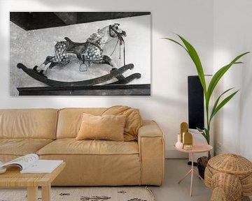 Rocking horse, vintage van Micha Klootwijk