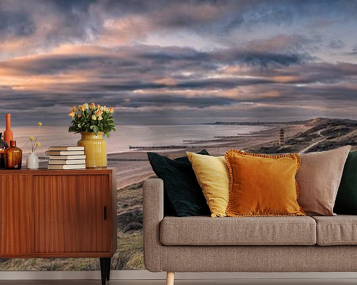 Sfeerimpressie behang: Panorama Majesty van Sander Poppe