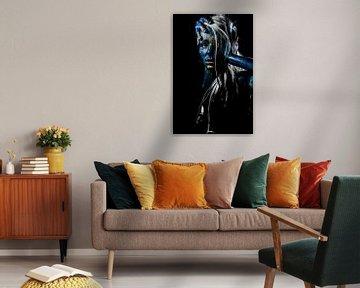 Kunstvoll bemalte Person von Atelier Liesjes