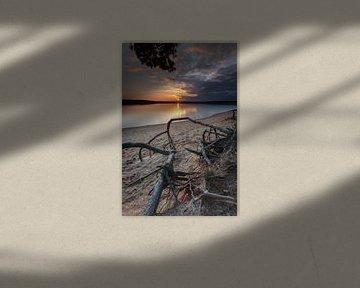*** Sonnenuntergang am See *** von Markus Busch