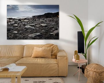 Djúpalónssandur-strand op Snæfellsnes, IJsland von Marie-Christine Alsemgeest-Zuiderent
