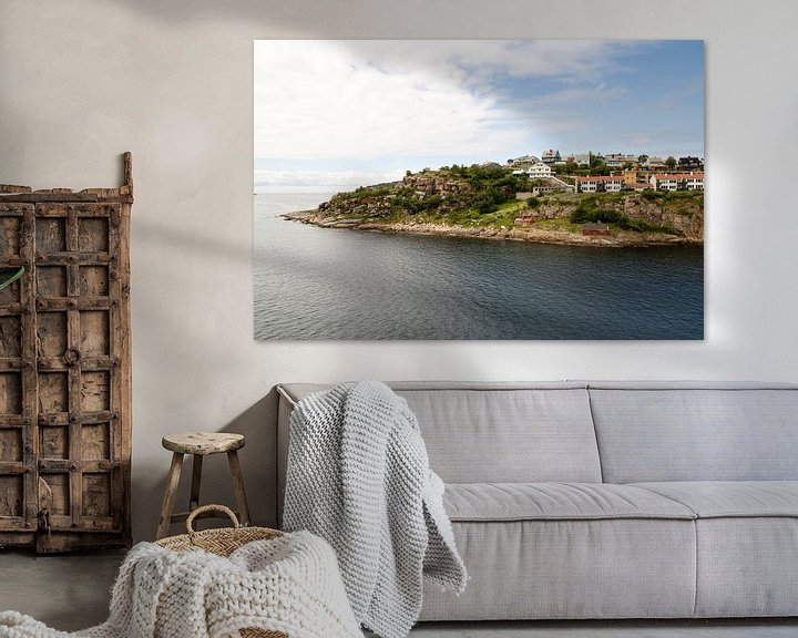 Sfeerimpressie: Kristiansund, Noorwegen van Marie-Christine Alsemgeest-Zuiderent