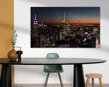 New York by night van Tazi Brown