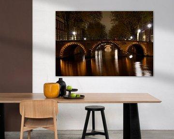 Sept ponts dans Amsterdam