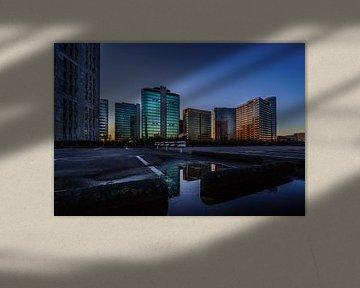 Zonsondergang op Amsterdam Arena kantorenpark - Deel 3 von Ramón Tolkamp