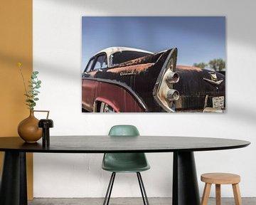 Rostiges amerikanisches Auto von Atelier Liesjes