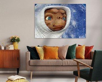 E.T. in einer Decke