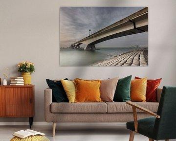 Zeelandbrug, Zeeland, Nederland von Leon Doorn