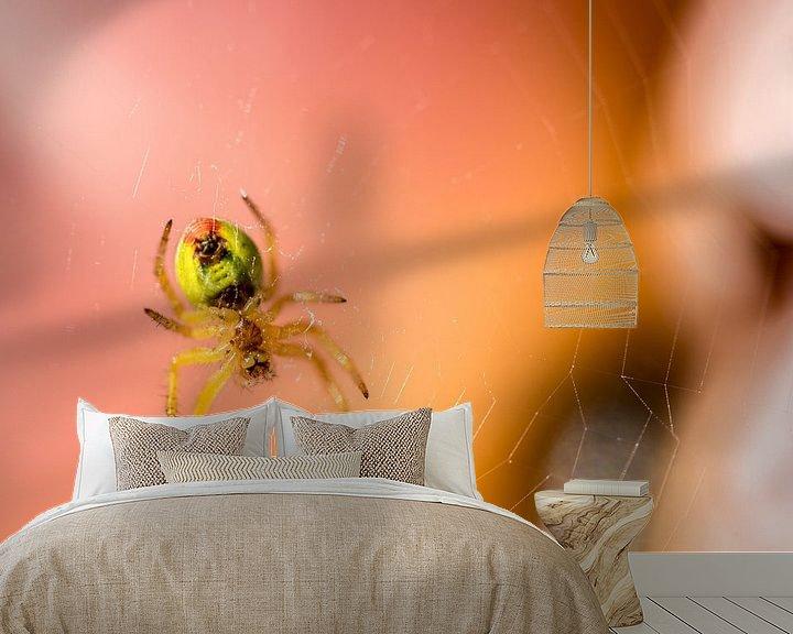 Sfeerimpressie behang: Araignée van gerald chapert
