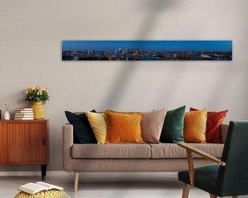 Panorama von Rotterdam von Daan Kloeg