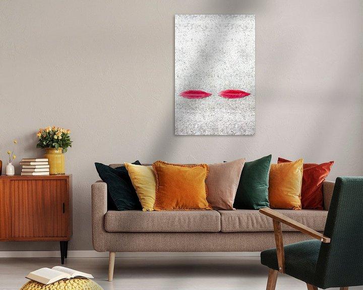Sfeerimpressie: Lippen van Wim Stolwerk