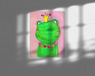 Kikkerkoning - Kunst voor Kinderen van Atelier BuntePunkt
