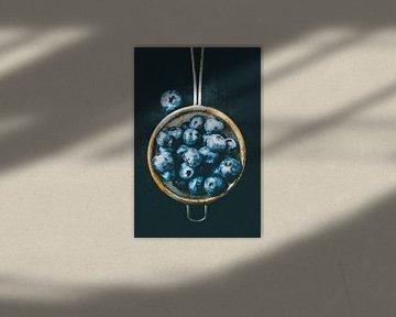 Blue berries van Jana Behr