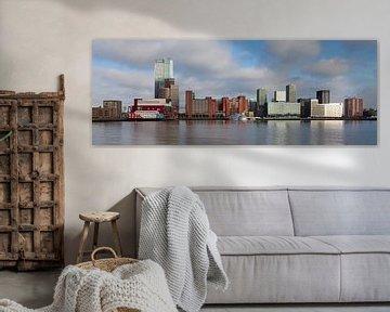 Waterfront Kop van Zuid Rotterdam van Paul Kampman