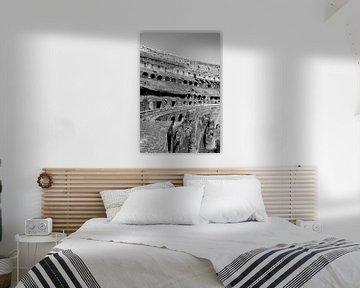"""Drieluik """"inside the Colosseum"""" 01 van 03 von Gert-Jan Besselink"""