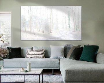 Winter bos trails van Chantal van Dooren