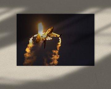 Illuminated by flares van Nildo Scoop