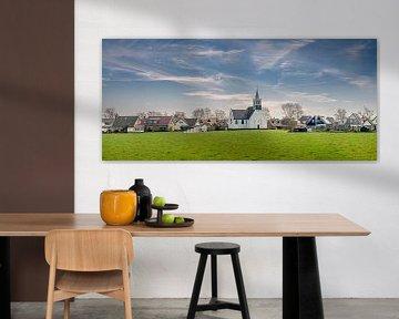 Oudeschild Zeemanskerk Texel van Texel360Fotografie Richard Heerschap