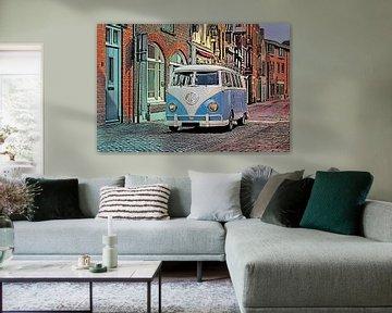 Volkswagen T1 busje van Dennisart Fotografie