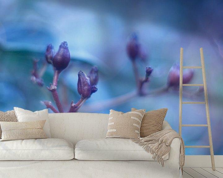 Sfeerimpressie behang: Feelin' Blue van LHJB Photography
