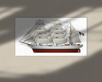 ARM Cuauhtémoc von Simons Ships