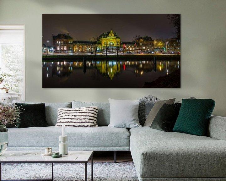 Sfeerimpressie: Hoofdstation van Groningen van Arline Photography