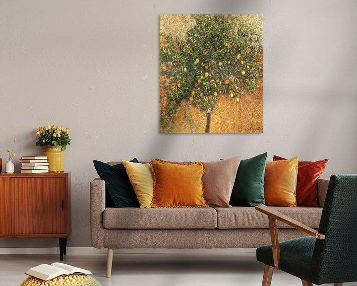 Sfeerimpressie: Schilderachtige citroenboom van Atelier Liesjes