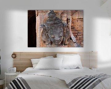 Ancien Bouddha birman
