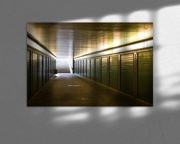 Metro-ingang in Berlijn von Liesbeth van Asseldonk