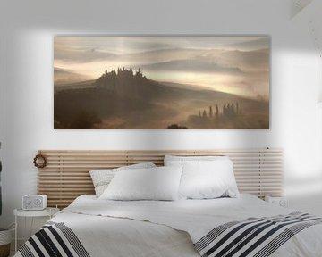 Val d'Orcia von Bart Ceuppens