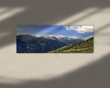 Puster valley van Leopold Brix