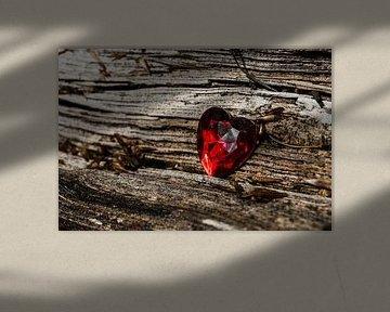 Herz auf Holz von Norbert Sülzner
