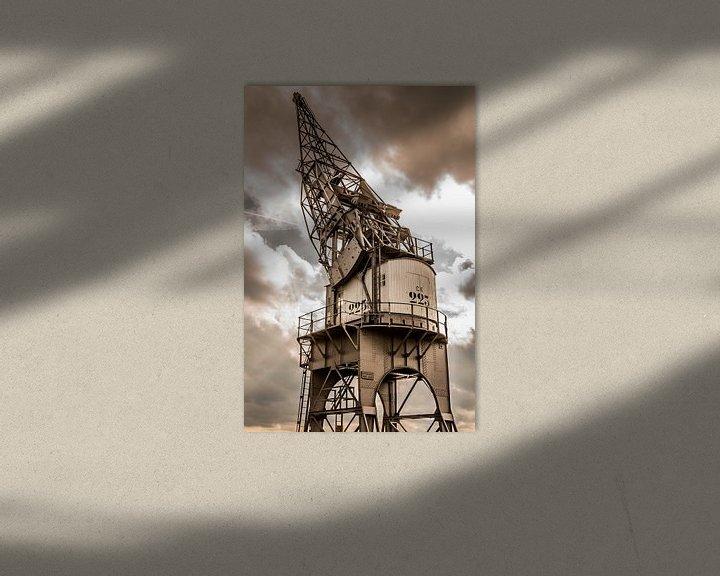 Beispiel: golden harbor crane von Koen Ceusters