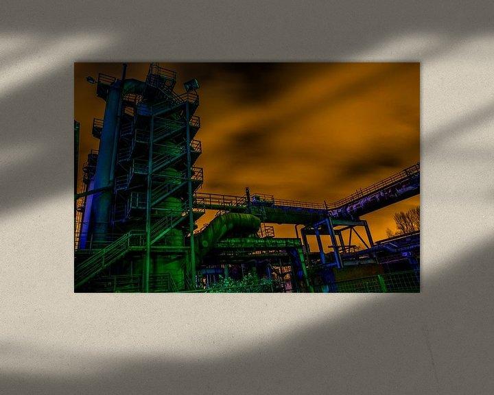 Beispiel: donker duisburg von Bart Berendsen
