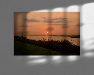 Sonnenaufgang von Ron van der Meer