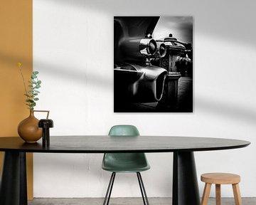 alten amerikanischen Autos, Rückseite mit Flügel des von Atelier Liesjes