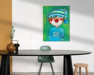 CLOWN JONG - Kunst voor Kinderen van Atelier BuntePunkt