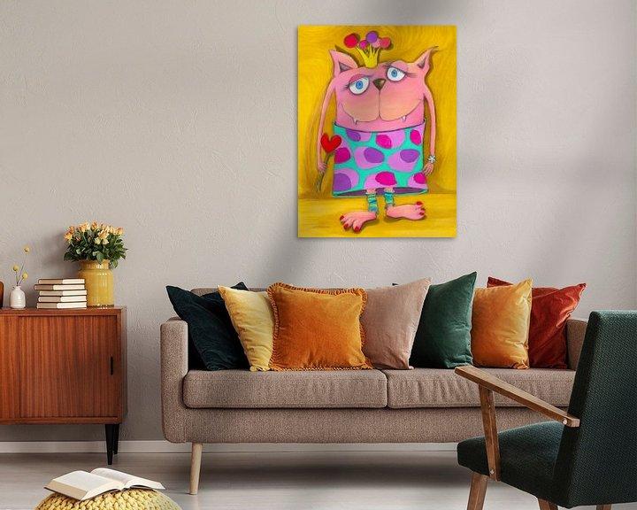 Sfeerimpressie: Vrouw VONUNDZU - Kunst voor Kinderen van Atelier BuntePunkt