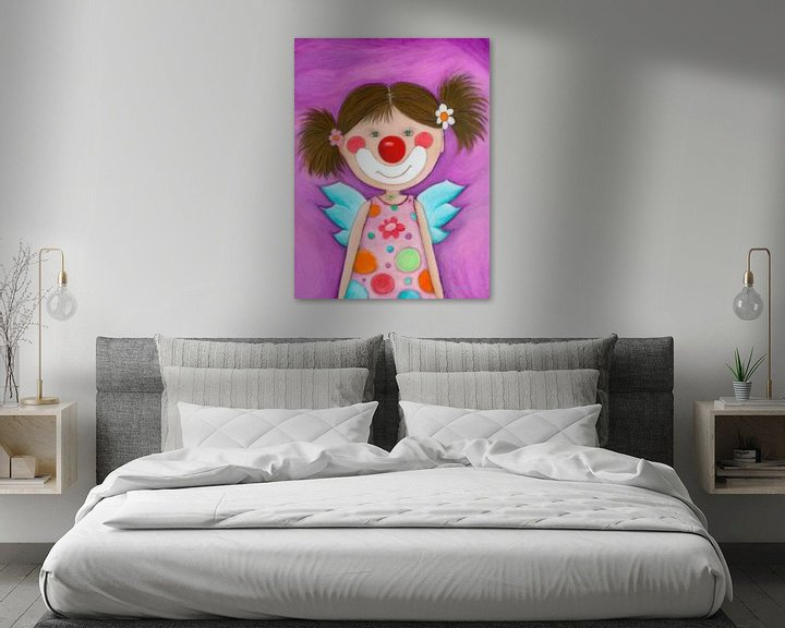 Sfeerimpressie: CLOWN MEISJE - Kunst voor Kinderen van Atelier BuntePunkt