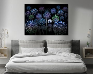 Allium fantasia van Olaf Bruhn