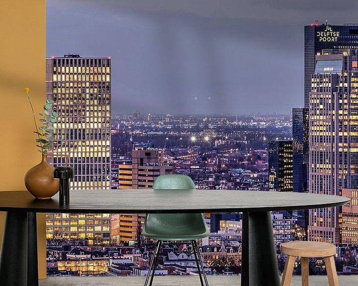 Beispiel fototapete: Rotterdam Central District von Frans Blok
